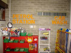Role play area - the garage