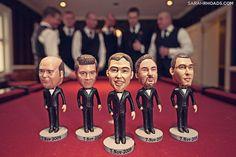 custom made bobbleheads for groomsmen gifts.