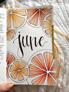 A couple days late, and it isn't perfect, but i'm really proud of my June cover page ! : bulletjournal A couple days late, and it isn't perfect, but i'm really proud of my June cover page ! Bullet Journal School, Bullet Journal Writing, Bullet Journal Headers, Bullet Journal Banner, Bullet Journal Cover Page, Bullet Journal Aesthetic, Bullet Journal Spread, Journal Covers, Bullet Journal Inspiration