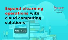 Bring advancement in ELEARNING BUSINESS by adding technical expertise of CLOUD COMPUTING offered by SynapseWebSolutions.   Start VIRTUAL CLASSES on remote basis to increase range of students. Virtual Class, Cloud Computing, Software Development, Mobile App, Bar Chart, Remote, Web Design, Students, Range