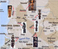 Mapa de Grupos y subgrupos fang