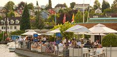 Seerose Restaurant, Zurich. At one of Karl Ruegsegger's favorite cafés.   THE LIBYAN Esther Kofod www.estherkofod.com