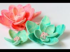 How To Make Chocolate Garnishes Decorations Flower Beautiful 2015 - YouTube