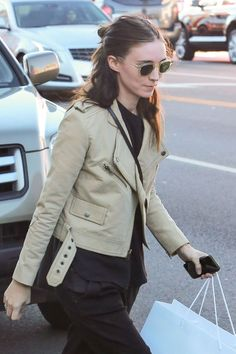 Rooney Mara Designer Shades with green lenses, Get them here, Etsy.com/shop/disasterinahalo