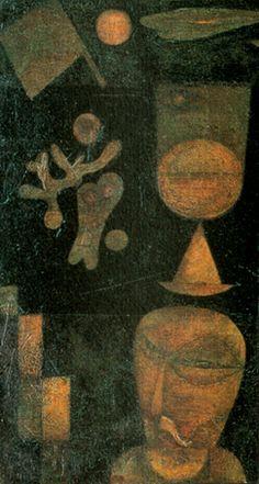 Paul Klee Oriental dreams and titles act on us as names. - Suigara-yama_OoazaHyo (Kyoko_Umino)