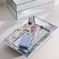 Mirrored Jewelry Tray | PBteen