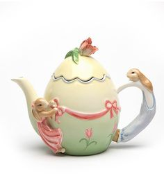 Egg Shaped Teapot