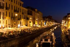 Ripa di Porta Ticinese at night l © plancas67/Flickr