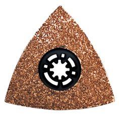 Cubikshop - Raspa Triangolare Al Carburo Di Tungsteno - Centro Depresso ECEF
