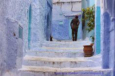 Viaggiare in Marocco,nella magica città blu di Chefchaouen. #viaggiareinmarocco