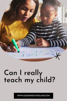 Can I really teach my child? What Is Homeschooling, Homeschool Blogs, My Children, The Help, I Can, Teaching, This Or That Questions, My Boys, Education