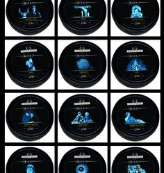 Series I, Series II and Lux Aeterna are all available in our Orbit Travel Wax. Housed in a tin evocative of 1940s shoe polish, this candle offers a smaller version of our signature scents. Each one is 2.75 oz and carries a 20 Hour Burn Time.  See them all here: http://www.pinterest.com/mdcandles/orbit-travel-wax/