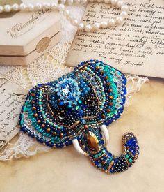 Beads and Accessories Made of Bears, # beadsbangle bracelet making . Bead Embroidery Jewelry, Beaded Embroidery, Beaded Jewelry, Beaded Bracelets, Seed Bead Patterns, Jewelry Patterns, Beading Patterns, Brooches Handmade, Handmade Jewelry