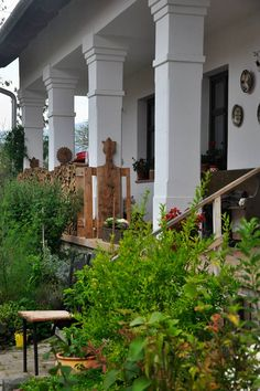 Travelogue, Home Hacks, Traditional House, Country Life, Hungary, Budapest, Provence, Porch, Buildings