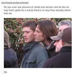 Behind the scenes on Supernatural?