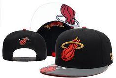 15443d916979d Cheap NBA Miami Heat New Era Snapback Black Hats 602