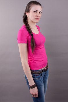 Футболка удлиненные рукава, малиновая мод.10161210 Размеры: 44-58 Цена: 150 руб.  http://optom24.ru/futbolka-udlinennye-rukava-malinovaya-mod10161210/  #одежда #женщинам #футболки #оптом24