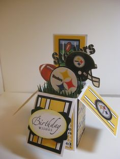 Steelers Card by Sally Hurrianko