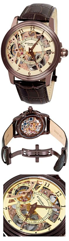 Symphony Saturnalia Brumalia by Stuhrling | The House of Beccaria~ - online mens watches, large mens watches, mens cuff watches