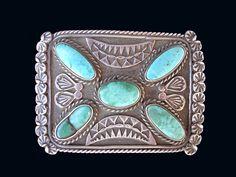 Navajo Trophy Buckle. cayusewa.com