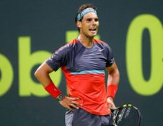 """Rafael Nadal Vs Tobias Kamke 6/3 6/7(3) 6/3 R2 Doha 2014""./ HACE 2 HORAS . VAMOS RAFA"