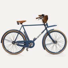 Vélo vintage Antoine - Bleu de Chauffe x Cycles Angot. www.bleu-de-chauffe.com #vintage #bicycle #bleudechauffe
