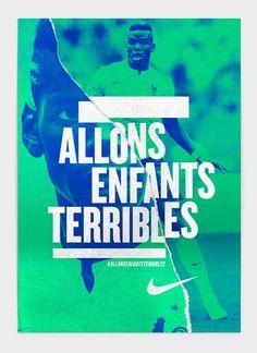 Nike - Euro 2016 on Behance Sports Graphic Design, Graphic Design Posters, Sport Design, Nike Poster, Magazine Cover Design, Communication Design, Design Graphique, Typography Poster, Advertising Design
