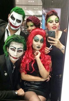 #MACtijuana Festejando Halloween 2015 Con Tema #Joker y #PoisonIvy #MakeUp #LoveMyJob #ChristianDayan