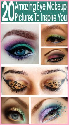 Eye makeup is a great way to make your eyes look more beautiful.So look at some of the best eye makeup pictures that will leave you wanting more! Sexy Eye Makeup, Makeup Art, Makeup Tips, Beauty Makeup, Hair Makeup, Makeup Ideas, Beauty Tips, Eyeshadow Designs, Makeup Designs