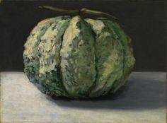 Édouard Manet (French, 1832-1883), The Melon, c. 1880. Oil on canvas, 32.6 x 44.1 cm