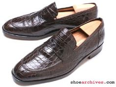 Bruno Magli NOBLE Mens Full Genuine Alligator Loafers Shoes