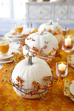 Bring some glamour to your home this Thanksgiving with these festive and fun holiday decorating ideas