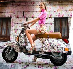 Another Flower Vespa