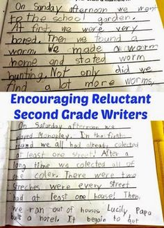 Writing Development In Second Grade Last week we had an Open House Night in school and could finally see the writing work that our second grader was doing in her classroom assembled into one writing journal. Almost every week on Monday every child would write a short Weekend News essay about events of the weekend. Smarty's school uses a template very similar to this FREE Weekend Edition Template in TPT store.  While flipping through the pages, I noticed that while Smarty's spelling ...