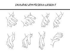 Drawing: Hand Poses on Pinterest | Hand Reference, Hand Holding ...