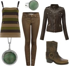 """""""Earth Nation"""" by tnflute616 on Polyvore inspired outfit; Nerd Fashion"""