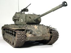 M26A1 Pershing 1/35 Scale Model