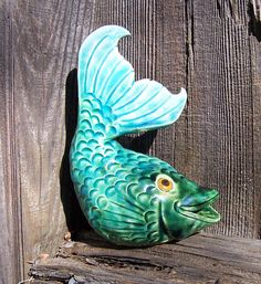 Fish by Dragonware on Etsy,