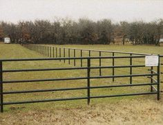 Ranch Fencing Ideas | Ranch and Farm Pipe Fence Pictures