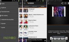 iVoox podemos escuchar audios de todo tipo mientras hacemos otras actividades, a la vez que podemos participar activamente en la comunidad subiendo nuevos audios interesante