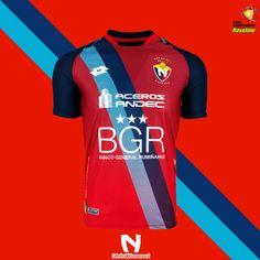 ¿Cómo será la nueva indumentaria del Rojo para la LigaPro 2019  C.D. El  Nacional 53978d0839cef