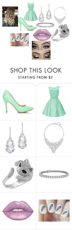 """""""Untitled #295"""" by megibson2005 on Polyvore featuring Plukka, Swarovski, Effy Jewelry, Blue Nile and Lime Crime"""