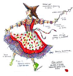 Hansel and Gretel (The Witch). Vancouver Opera. Costume design by Christine Reimer. 2004
