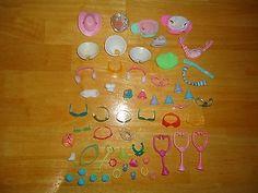 Littlest Pet Shop LPS Huge Lot of 55 Clothing Hats Glasses Shoes Accessories | eBay