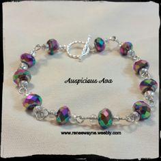 Multicolored beads www.reneewayne.weebly.com
