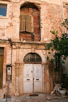 Venetian doorway, Italy, Venice