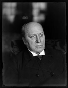 Photograph, c.1900 of American Author: Henry James, (1843-1916). Photographer: William M. Vander Weyde, taken during America's Gilded Age. ~ {cwlyons}  ~ (Image: George Eastman House)