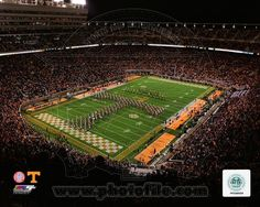 NCAA Neyland Stadium Univserity of Tennessee Volunteers 2013
