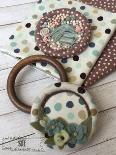 Hobby di Carta - Il blog: Come vi trasformo... gli anelli delle tende (by Ste)