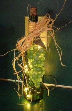 Image detail for -Wine Bottle Lights by bspinks - Cards and Paper Crafts at ...